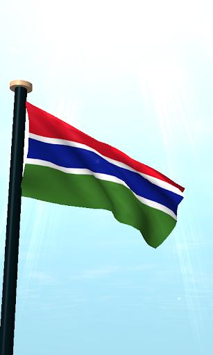 免費下載個人化APP|冈比亚旗3D免费动态壁纸 app開箱文|APP開箱王