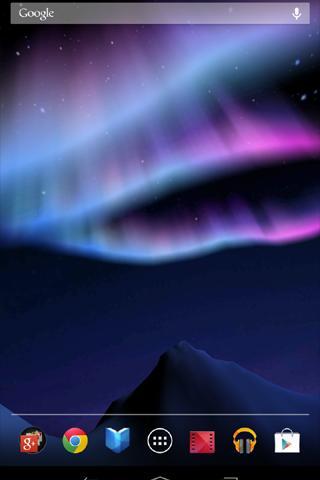 Aurora 3D ライブ壁紙 Free