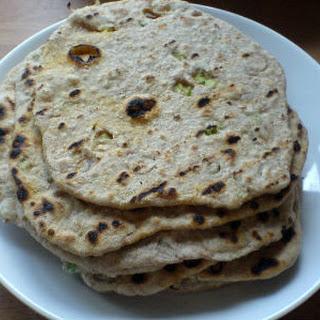Spring Onion Chapati