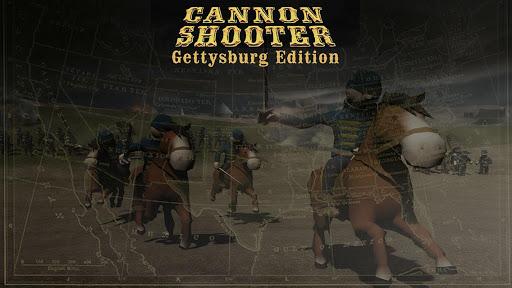 大砲米国とゲティスバーグの戦い フル3Dゲーム