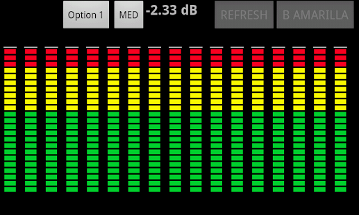 Vumeter -AudioSpectrumAnalyzer - screenshot thumbnail