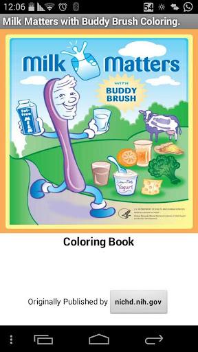 Buddy Brush Kids Coloring Book