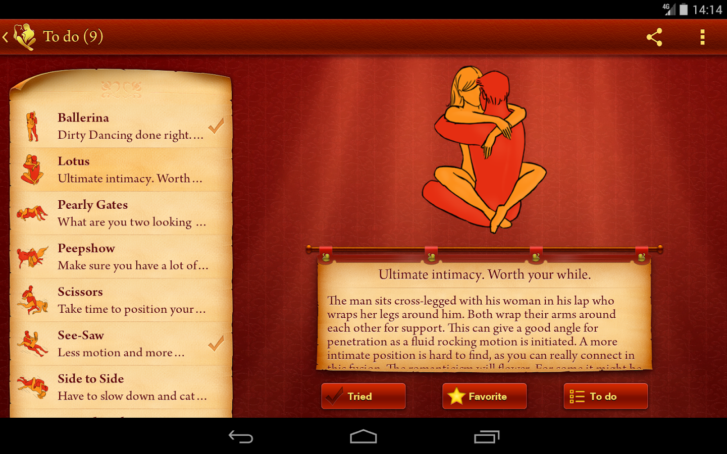 iKamasutra® Lite Sex Positions - screenshot