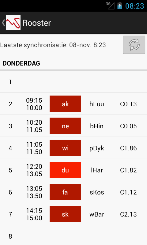 Werkman Kluiverboom Rooster - screenshot