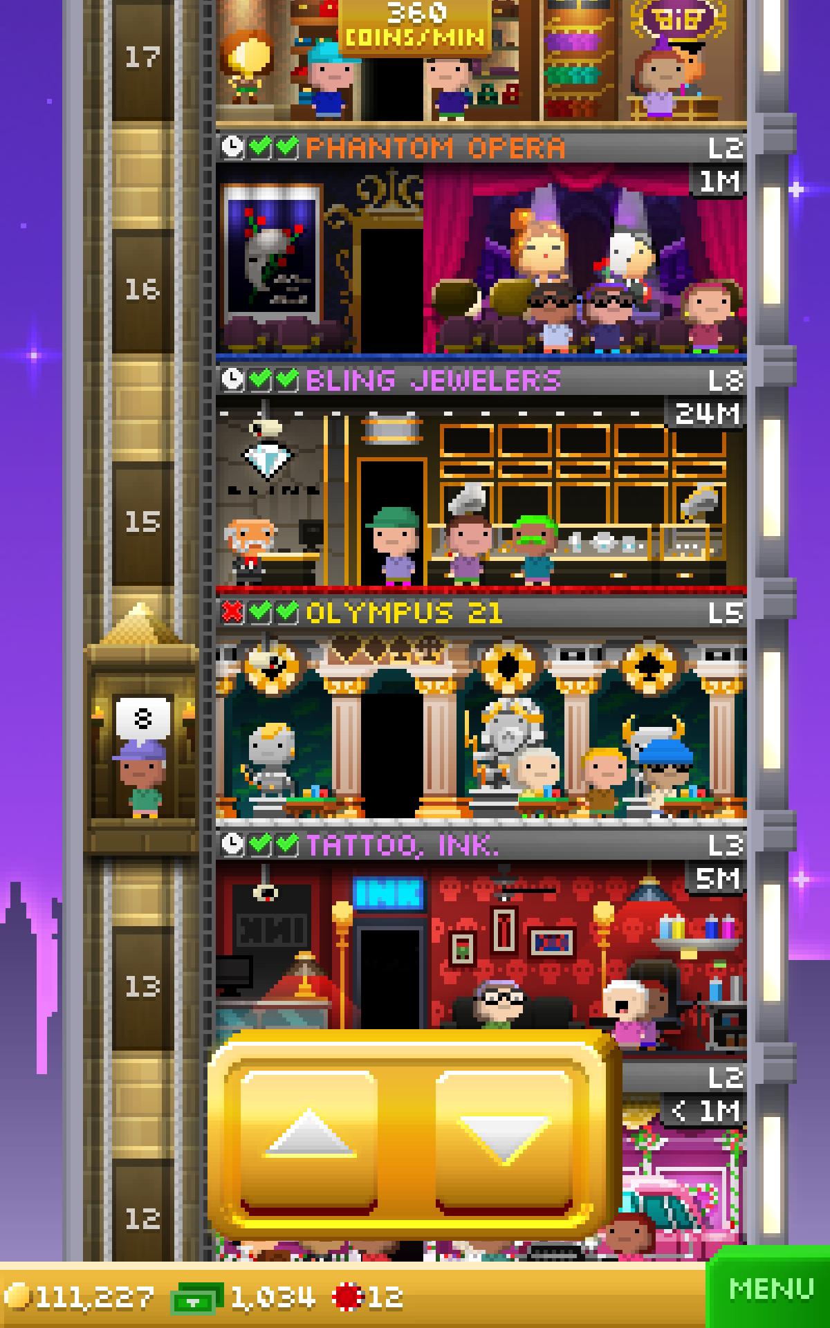Tiny Tower Vegas screenshot #13