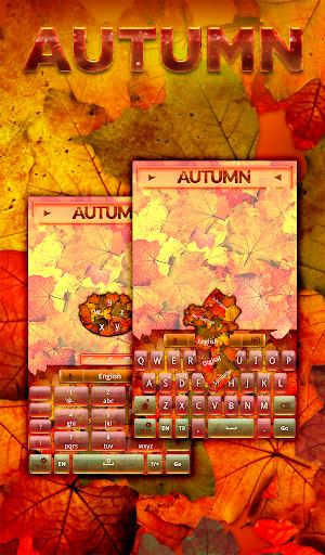 秋のキーボード