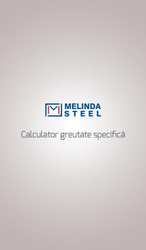 Melinda Steel Calculator