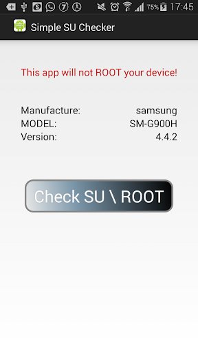 free root check