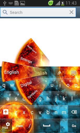 【免費個人化App】银河键盘GO主题-APP點子