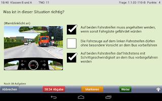 Screenshot of i-Führerschein Fahrschule Lite