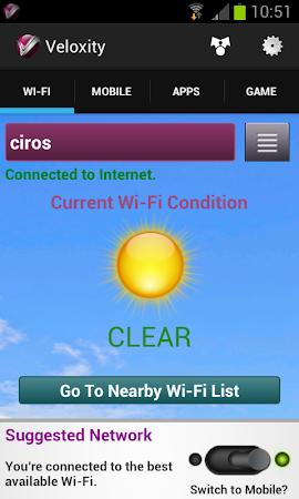WiFi     Mobile Network Speed 1.0.158 screenshot 157143