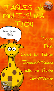 Jeu de table gratuit applications android sur google play - Application pour apprendre les tables de multiplication ...