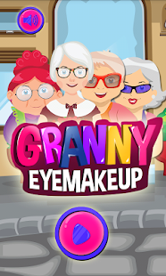 Granny Eye Makeup