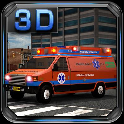 Аварийный Ван 3D парковка