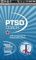 Screenshot of PTSD Coach