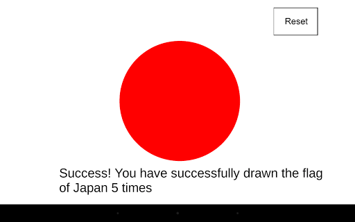 Draw The Flag Of Japan