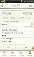 Screenshot of Anti-Anxiety APP