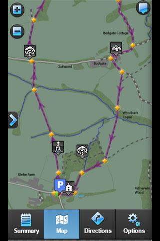 玩免費旅遊APP|下載iWalk N. Petherwin to Winsdon app不用錢|硬是要APP