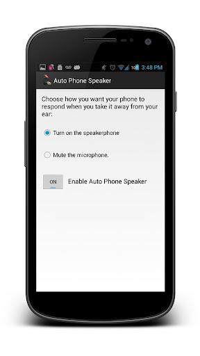 Auto Phone Speaker