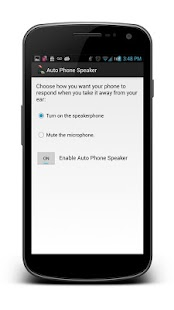 Auto Phone Speaker - screenshot thumbnail
