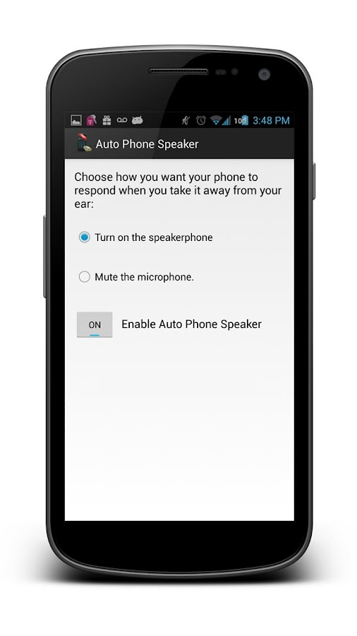Auto Phone Speaker- screenshot
