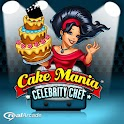 Cake Mania Celebrity Chef logo