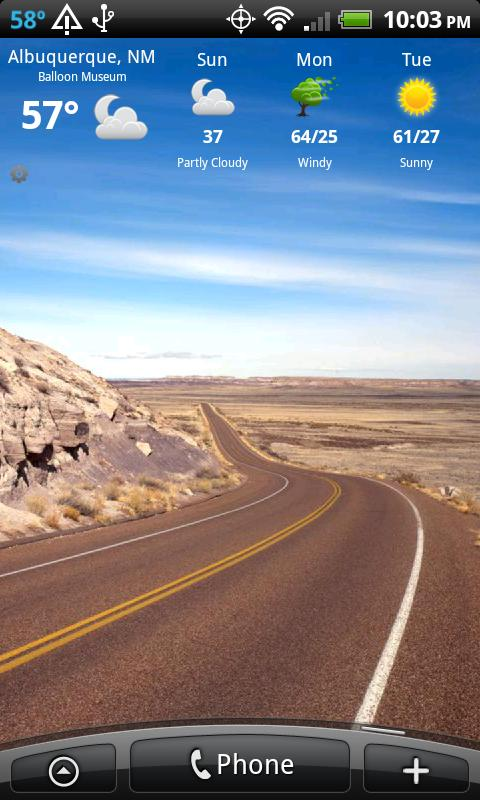 Route 66 ARIZONA HD+ Wallpaper - screenshot