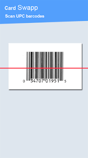 Cardswapp Barcode Scanner Swap - screenshot thumbnail