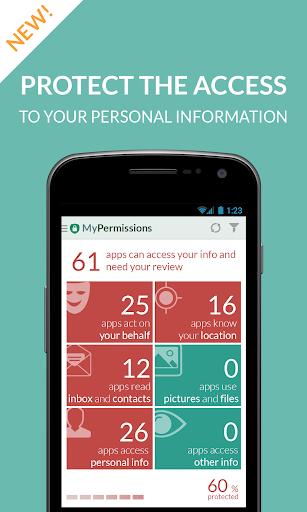 MyPermissions – 個人情報管理アプリ