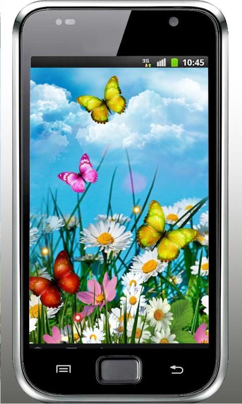 Summer Butterfly livewallpaper - screenshot