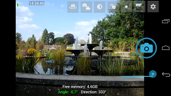 Open Camera – Miniaturansicht des Screenshots
