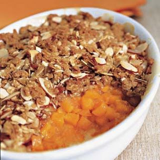 Apricot-Almond Crisp