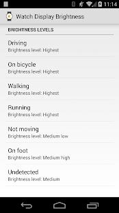 Display Brightness for Wear - screenshot thumbnail