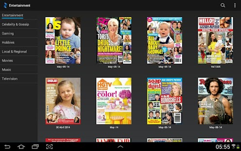 Zinio: 5000+ Digital Magazines Screenshot 26