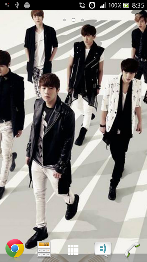 INFINITE Live Wallpaper - screenshot