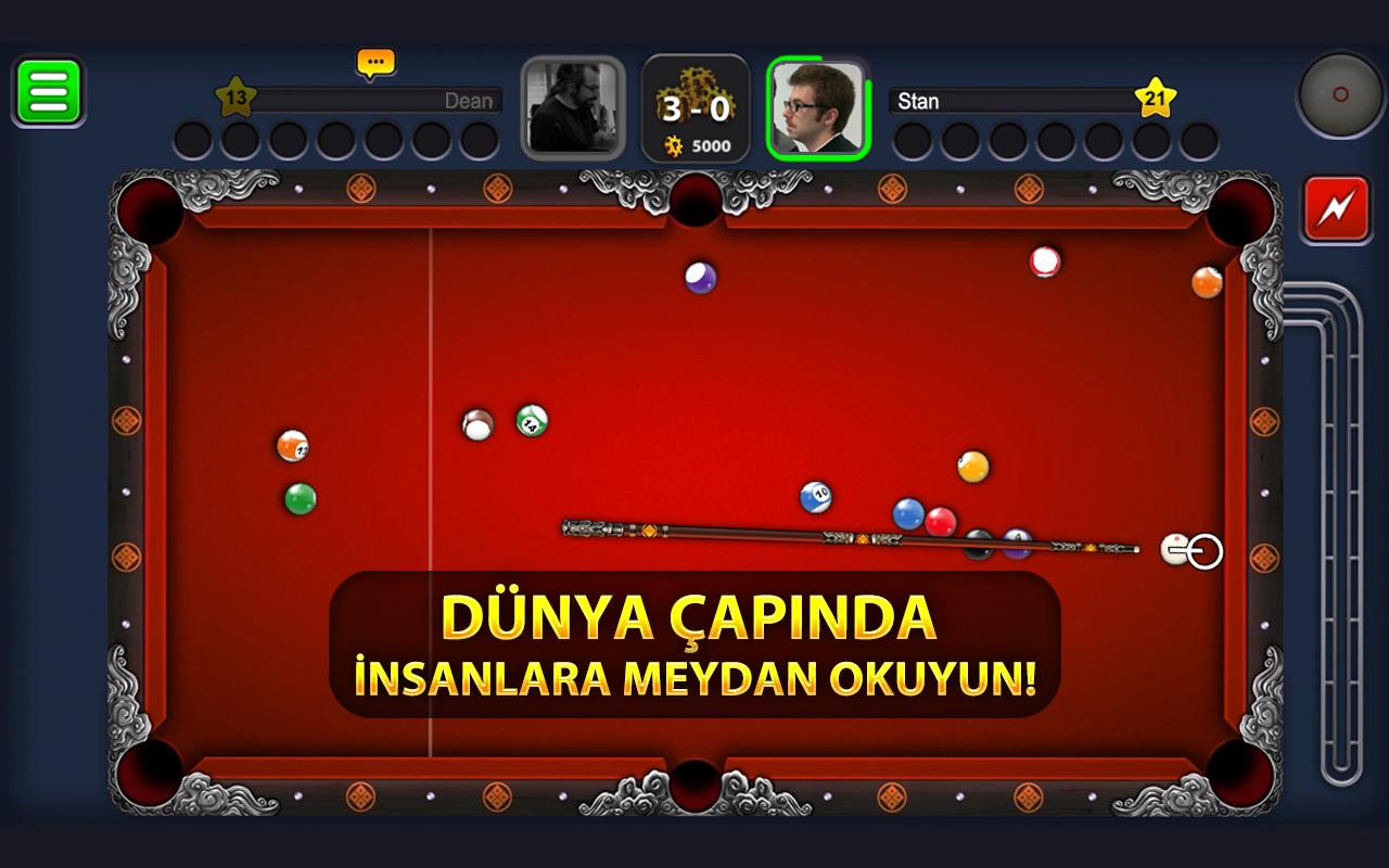 bilardo oyununu oyna