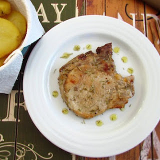 Fried Pork Chops with Rosemary Recipe
