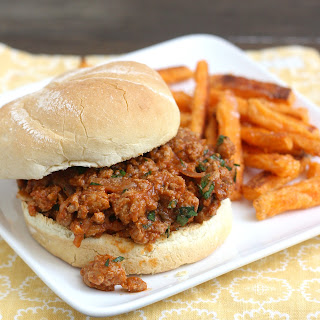 Ground Turkey Sloppy Joes with Hoisin and Cilantro.
