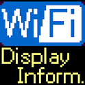 Display WiFi IP Address SSID logo