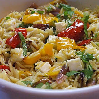 Orzo w/ Roasted Vegetables.