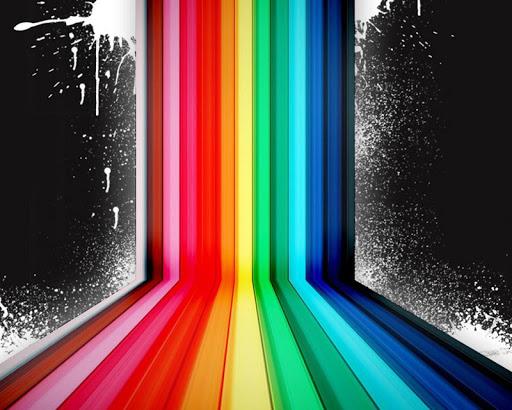彩色條紋壁紙