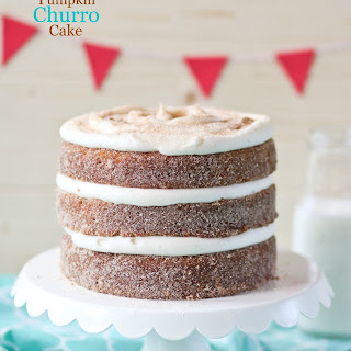 Pumpkin Churro Layer Cake