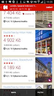 Hotels.com - Rezervace hotelů - náhled