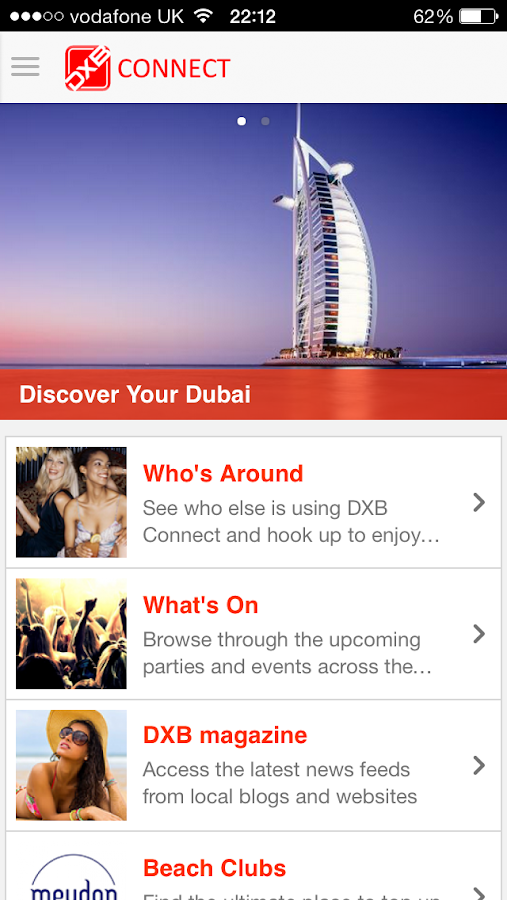 DXB Connect - Your Dubai App- screenshot