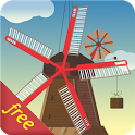 Windmill and Pond LWP (Free) icon