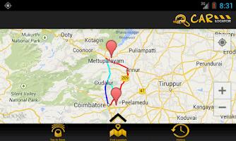 Screenshot of GPS Car Locator
