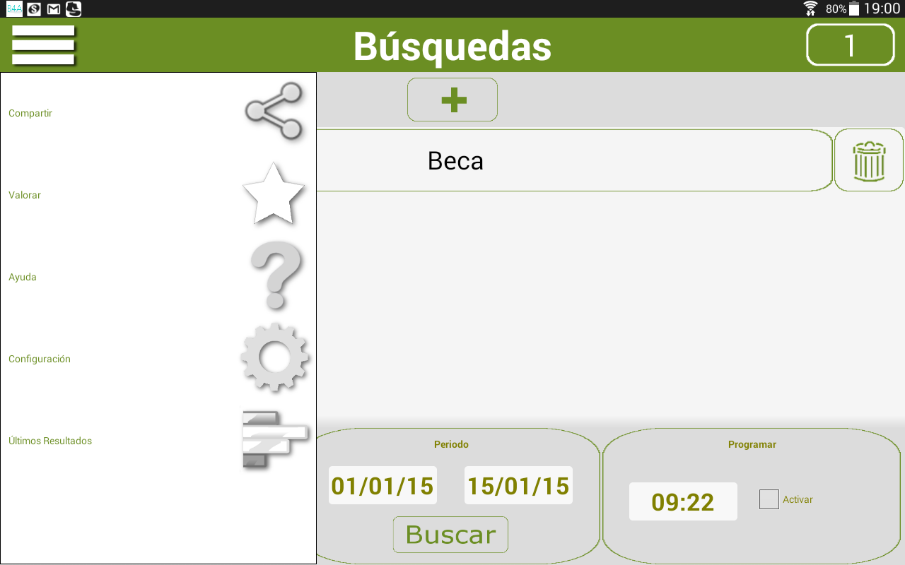 BuscaBOJA- screenshot