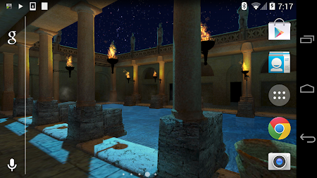 Roman Bath 3D Live Wallpaper APK screenshot thumbnail 16