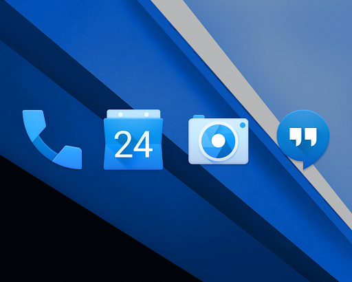 BLUE. Icon Pack
