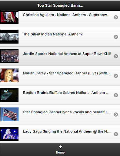 Top Star Spangled Banner Vids